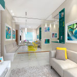 3D Sala Jantar/Estar 1